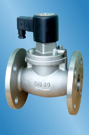 原理 常闭:当线圈通电时,电磁铁芯吸合,卸压孔打开,主活塞由介质压力