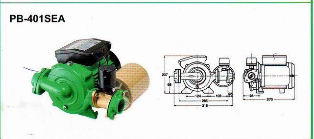 德国威乐水泵 自动带压力罐水泵 小型水泵