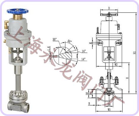 ⒈液化气紧急切断阀⒉低温紧急切断阀厂家和价格图片