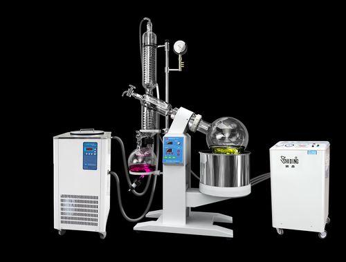 冷却液循环泵为旋蒸降温