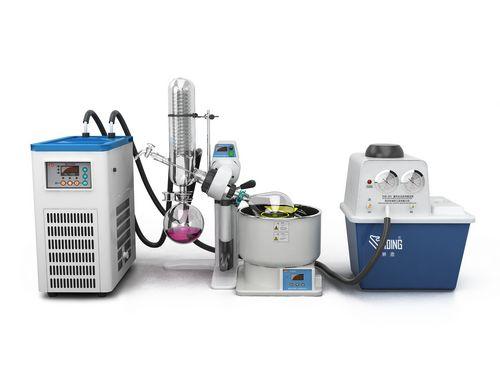 减压真空泵为旋转蒸发仪抽真空