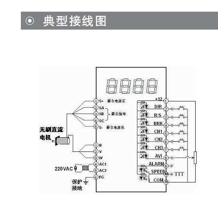 bl系列无刷直流电机驱动器-品尊mdc牌