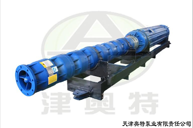QJW卧式潜水泵 卧式潜水泵安装示意图 天津奥特泵业技术支持